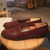 Bally Of Switzerland Phoenix Brown Men's US12M Leather Brogue Loafers Shoes
