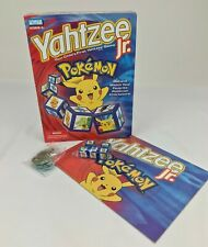 Pokemon Yahtzee Jr. Game Parker Brothers 2004 Replacement Game Parts Dice Tokens