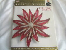 Costume Jewelry by Judith Miller Hard Cover Collector's Price Designer Guide