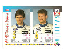 Williams F1 Drivers | Damon Hill & David Coulthard | Formula 1 Racing card