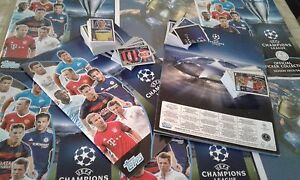 CHAMPIONS LEAGUE TOPPS 2015-16-  SET COMPLETO 619 FIGURINE/STICKERS(NO ALBUM!! )
