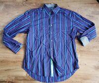 mens ROBERT GRAHAM LARGE MULTI striped long sleeve shirt