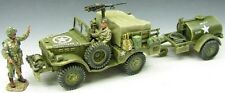 KING & COUNTRY D DAY DD049 U.S. 101ST AIRBORNE WEAPONS CARRIER & WATER TANK MIB