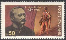 Italy 1968 Arrigo Boito//Music/Composers/People/Opera/Musicians 1v (n43035)