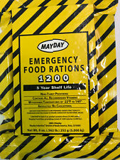 Mayday 5-Year Shelf Life 1200 Calorie Emergency Food Bar Expiry July 2023