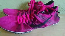 NIKE ZOOM VICTORY 2 ELITE DISTANCE TRACK SPIKES black pink women's Size 5