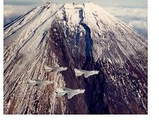 Vought A7 Corsair II VA105 Navy Fighter Aircraft Photo 8x10 Mount Fuji