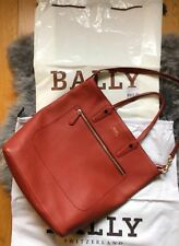 BALLY Macy Tasche Shopper in rot