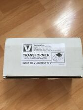 VECTAIRE TRANSFORMER WITH PHOTO ISOLATOR 230 V -12v Output Brand New Boxed