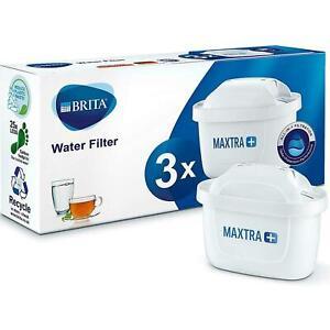 3 Pack BRITA Maxtra+ Plus Water Filter Jug Replacement Cartridges Refills UK