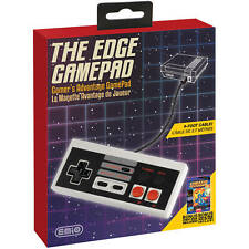 The Edge Gamepad For NES Classic Edition + Wii U - 9 Foot Cable, Turbo Fire