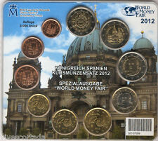 España  OFICIAL 2012 F.M.N.T. BERLIN 3000 Tirada 10 valor World Money Fair @@