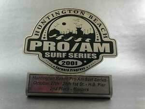 Vintage Huntington Beach Pro/Junior Surf Series Second Place Master Division USA