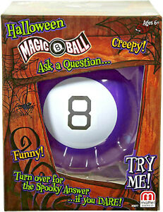 Mattel Games Halloween Magic 8 Ball  ~BRAND NEW~
