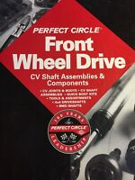 Vtg 1994 PERFECT CIRCLE Front Wheel Drive Parts Catalog