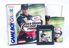 TIGER Woods PGA Tour 2000 in scatola-Nintendo Game Boy Color Cartuccia PAL