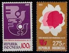 Indonesië postfris 1985 MNH 1225-1226 - Internationale Vrouwendag