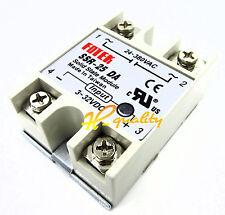 2PCS Solid State Relay SSR-25DA 25A /250V 3-32V DC Input 24-380VAC Output NEW