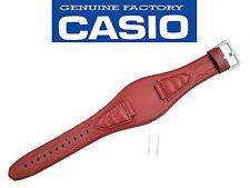 Genuine Casio G-300L-4AV watch band strap Red 16mm G300L-4AVJCR Leather