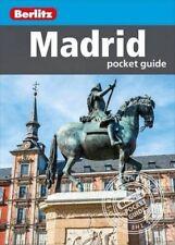 Berlitz Madrid Pocket Guide (Spain) *FREE SHIPPING - NEW*