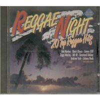 Reggae Night-20 top Reggae Hits (1992, K-tel) Jimmy Cliff, Ziggy Marley, .. [CD]
