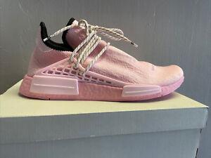 Adidas x Pharrell NMD Hu True Pink Human Race Sneaker Mens Size 11 GY0088
