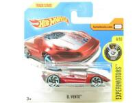 Hotwheels El Viento Red Experimotors 75/365 Short Card 1 64 Scale Sealed New