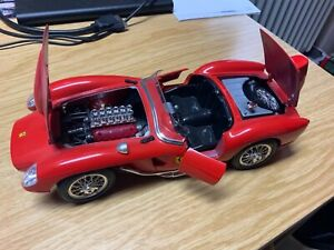 PCM Transkit Burago Ferrari 250 TESTA ROSSA in 1:18 Modell!