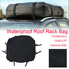 44*34*17 inch Waterproof Cargo Luggage Travel Bag Car Roof Top Rack Carrier