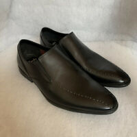 Mens Clarks Smart Shoe Bampton Free Black Leather Size 8G Sale Price Was £60