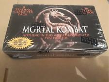 Mortal Combat Trading card Box 1995 Skybox