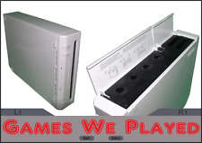 White Nintendo Wii Console Only Gamecube Ports Replacement RVL001(AUS)*