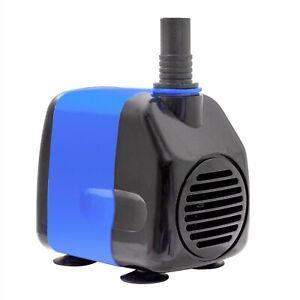 265 GPH Submersible Aquarium Fish Water Pump Tank Powerhead Fountain Hydroponics
