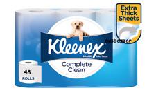 Kleenex Toilet Paper Tissue Rolls Soft Sanitary 216 Sheets 10 X 10 Cm 48 Rolls