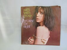 "Patti Smith Group: Because the Night/God Speed Mint Rock Single 45RPM EX 1978 7"""