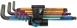 Wera 950/9 Hex-Plus Multicolour HF 1 Angle Wrench Set - 9-teilig 05022210001