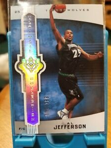 07 UPPER DECK ULTIMATE COLLECTION BASKETBALL AL JEFFERSON 94/199