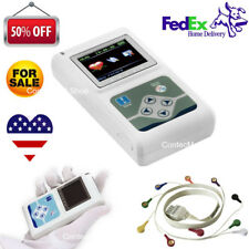USA 12 Channel ECG Holter ECG/EKG 24 Hours Holter ECG Recorder+Software CONTEC