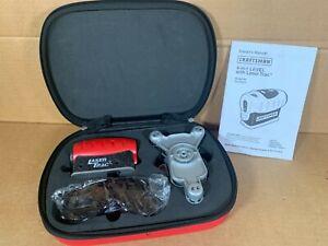 Craftsman 4-in-1 Laser Trac Level Model 320.48251 Plus Zippered Case