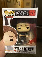 Funko Pop American Psycho : Patrick Bateman #942 Vinyl