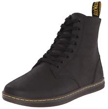 DR MARTENS Men's TOBIAS Black Boots, Greasy Lamper, UK 11 / EU 46