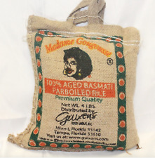 Madame Gougousse - Aged Basmati Rice 4 lb   Eurys Market