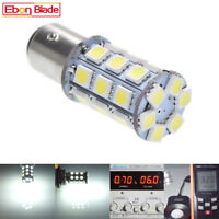 2 x 6V S25 1157 BAY15D 27 SMD LED White Car Bulb Brake/Stop/Tail/Reverse Lights