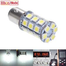 2 x 6V S25 1157 BAY15D 27 SMD LED White Car Bulb Brake/Stop/Tail/Reverse Lights
