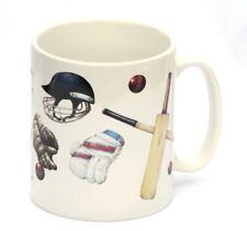 Cricket Player Batsman Mug Ideal China Drinks Gift For Captain Sports
