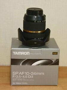 SUPERB NIKON AF-S DX FIT TAMRON SP 10-24mm f3.5-4.5 Di11 EXTREME WIDE ANGLE ZOOM