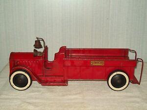 STRUCTO 1920'S 1930'S PACKARD BATTERY ELECTRIC HEADLIGHTS LADDER FIRE TRUCK #1