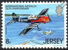 de Havilland Canada DHC-1 CHIPMUNK Trainer Aircraft Mint Stamp (1979 Jersey)