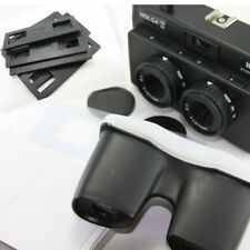 Black Holga 135 35mm 3D Stereo Film Camera Lomo lomography w/ Slide Mount Viewer
