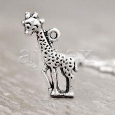 40Pcs Tibetan Silver Giraffe Charms Pendants TS3230